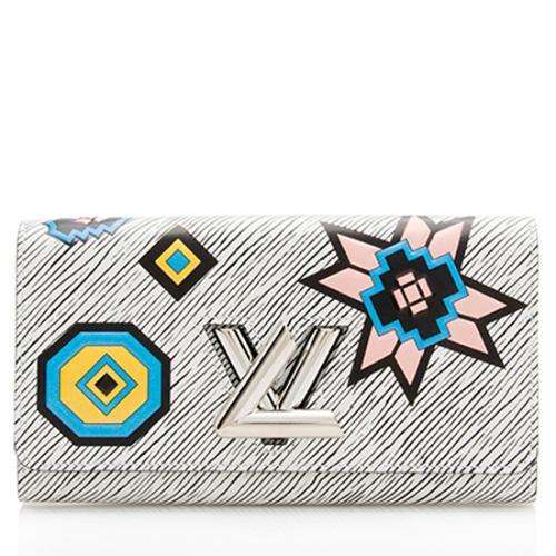 Louis Vuitton Aztec Epi Leather Twist Wallet
