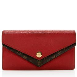 Louis Vuitton Calfskin Double V Wallet