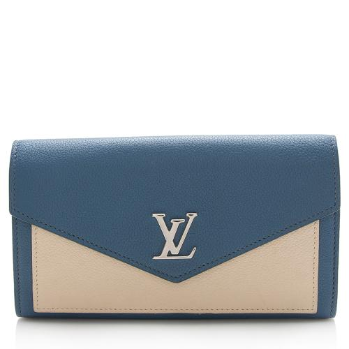 Louis Vuitton Calfskin Lockme Wallet
