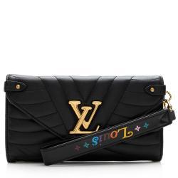 Louis Vuitton Calfskin New Wave Long Wallet