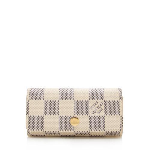 Louis Vuitton Damier Azur 4 Key Holder