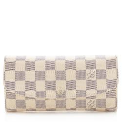 Louis Vuitton Damier Azur Emilie Wallet