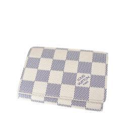 Louis Vuitton Damier Azur Enveloppe Cartes de Visite Card Case