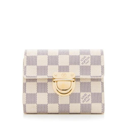 Louis Vuitton Damier Azur Koala Wallet
