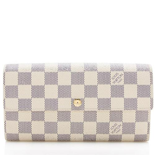 Louis Vuitton Damier Azur Sarah Wallet