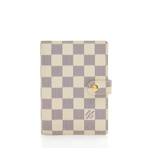 Louis Vuitton Damier Azur Small Agenda Cover