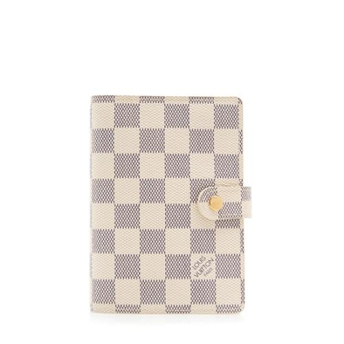 Louis Vuitton Damier Azur Small Ring Agenda Cover
