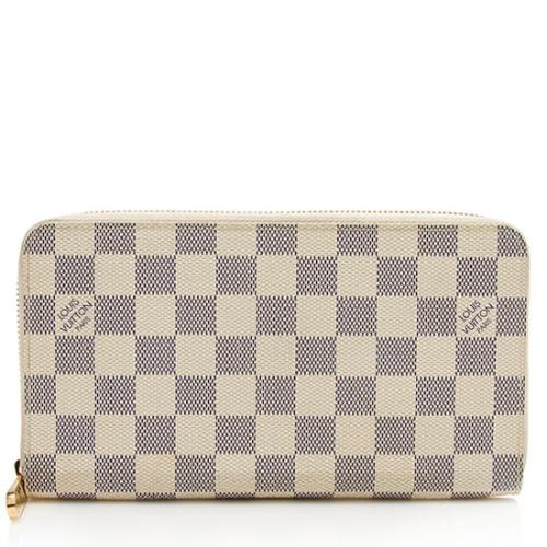 Louis Vuitton Damier Azur Zippy Organizer Wallet