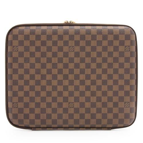 "Louis Vuitton Damier Ebene 15"" Laptop Sleeve"
