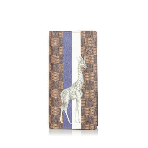 Louis Vuitton Damier Ebene Chapman Brothers Wallet