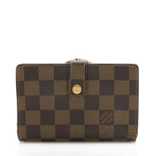 Louis Vuitton Damier Ebene French Purse Wallet - FINAL SALE