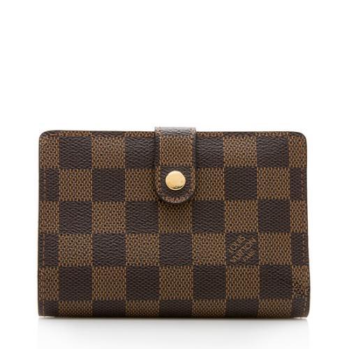 Louis Vuitton Damier Ebene French Purse Wallet