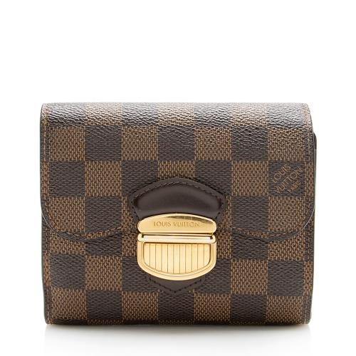 Louis Vuitton Damier Ebene Joey Wallet