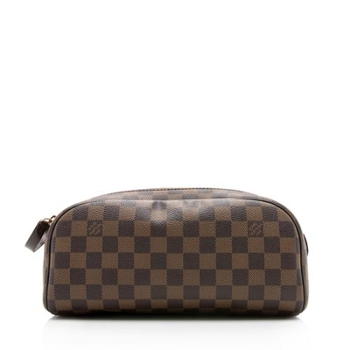 Louis Vuitton Damier Ebene King Size Toiletry Cosmetic Bag