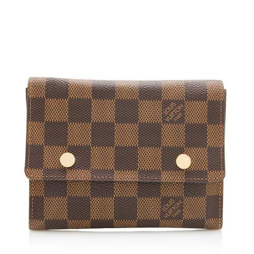 Louis Vuitton Damier Ebene Portefeuille Modulable Compact Wallet