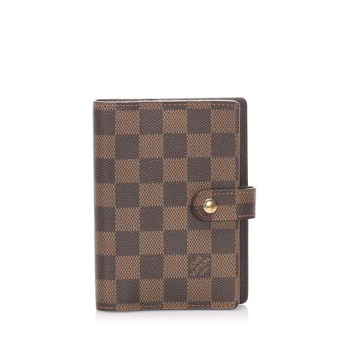 Louis Vuitton Damier Ebene Small Ring Agenda
