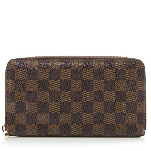 Louis Vuitton Damier Ebene Zippy Organizer Wallet