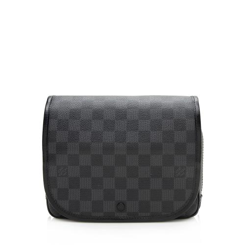 Louis Vuitton Damier Graphite Hanging Toiletry Kit