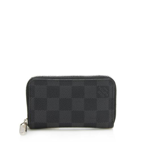 Louis Vuitton Damier Graphite Zippy Coin Wallet