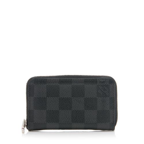 8e7e8df2be7 Louis Vuitton Damier Graphite Vertical Zippy Coin Wallet