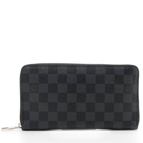 Louis Vuitton Damier Graphite Zippy Organizer Wallet