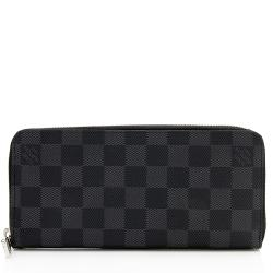 Louis Vuitton Damier Graphite Zippy Vertical Wallet