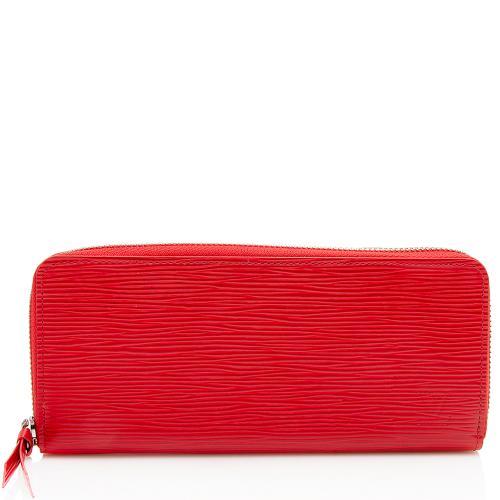 Louis Vuitton Epi Leather Clemence Wallet