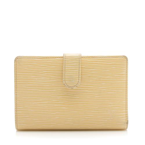 Louis Vuitton Epi Leather French Purse Wallet