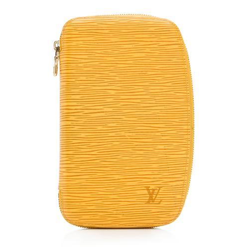 Louis Vuitton Epi Leather Geode Zippy Organizer Wallet