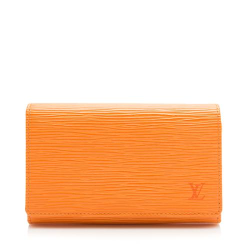 Louis Vuitton Epi Leather Porte Tresor Wallet
