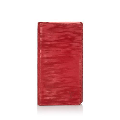 Louis Vuitton Epi Porte-Cartes Credit Yen Wallet