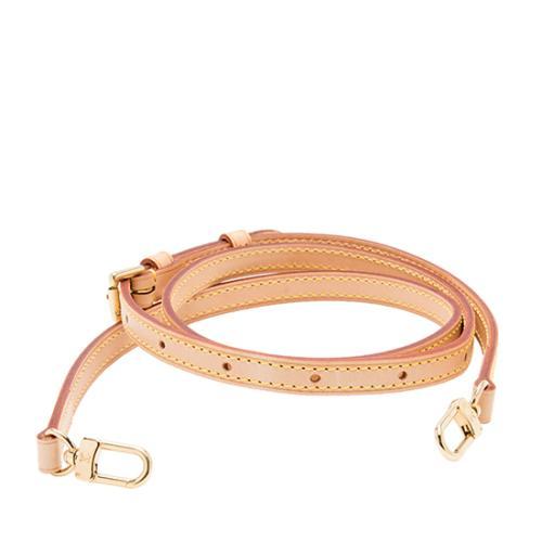 Louis Vuitton Leather 12mm Adjustable Bandouliere Shoulder Strap