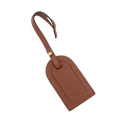 Louis Vuitton Leather Luggage Tag