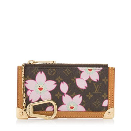 Louis Vuitton Limited Edition Cherry Blossom Key Pouch