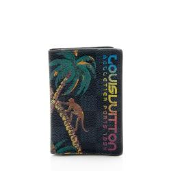 Louis Vuitton Limited Edition Damier Cobalt Jungle Pocket Organizer - FINAL SALE