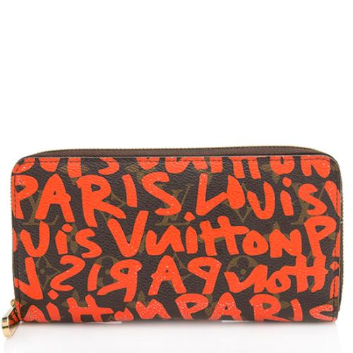 Louis Vuitton Limited Edition Graffiti Zippy Wallet