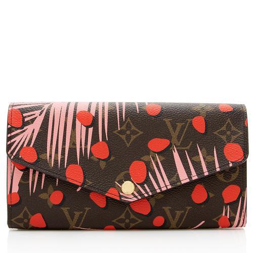 Louis Vuitton Limited Edition Jungle Dots Sarah Wallet