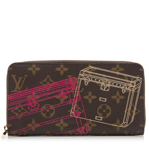 Louis Vuitton Limited Edition Monogram Canvas Christmas Animation Sarah Wallet