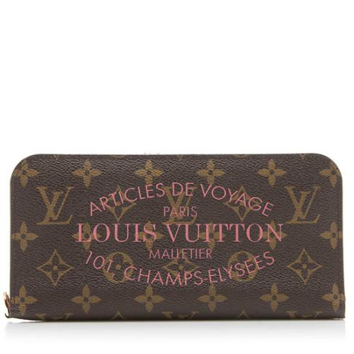 Louis Vuitton Limited Edition Monogram Canvas Ikat Insolite Wallet