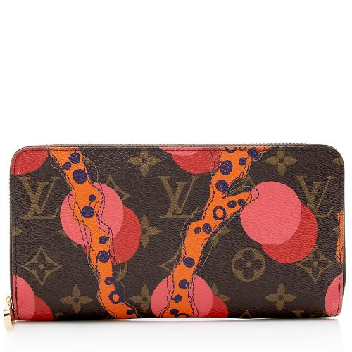Louis Vuitton Limited Edition Monogram Ramages Zippy Wallet