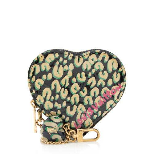 Louis Vuitton Limited Edition Stephen Sprouse Heart Coin Purse