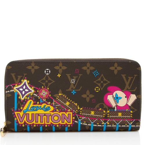 Louis Vuitton Limited Edition Vivienne Mongoram Canvas Zippy Wallet