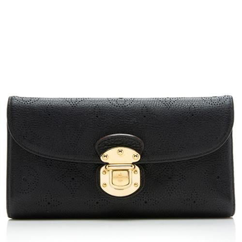 Louis Vuitton Mahina Leather Amelia Wallet