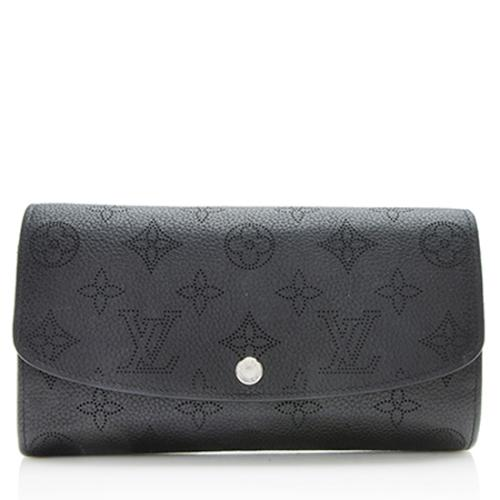 Louis Vuitton Mahina Leather Iris Wallet