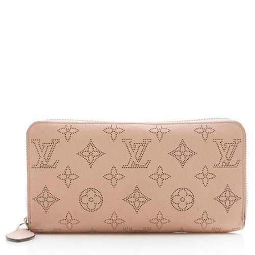 Louis Vuitton Mahina Leather Zippy Wallet