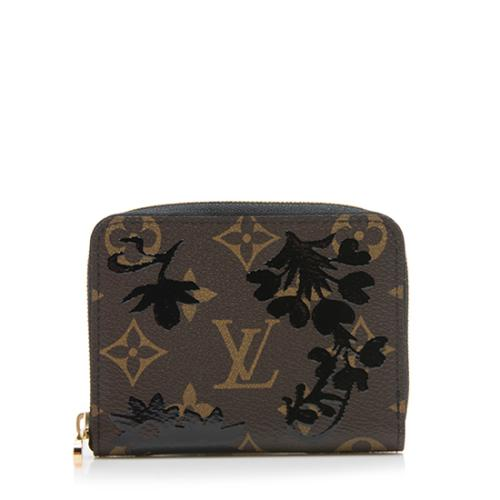 Louis Vuitton Monogram Blossom Canvas Zippy Coin Wallet