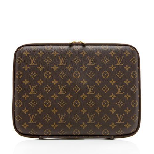 """Louis Vuitton Monogram Canvas 13"""" Laptop Sleeve"""