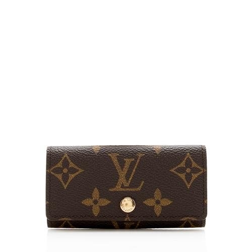 Louis Vuitton Monogram Canvas 4 Key Holder
