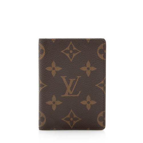 Louis Vuitton Monogram Canvas Card Case