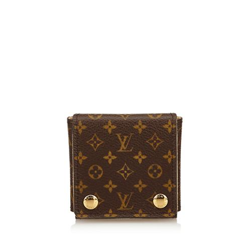 Louis Vuitton Monogram Canvas Small Jewelry Case